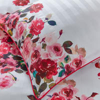 Roses Standard Pillowcase Pink