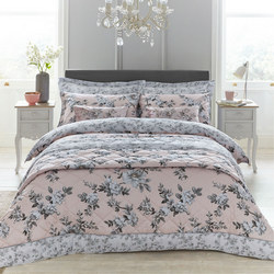 Isabelle Duvet Cover Blush
