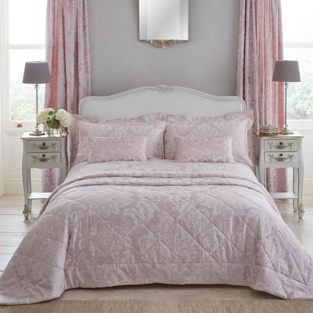 Antoinette Oxford Pillowcase Blush