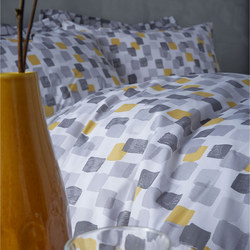 Cottonsoft Brushstrokes Duvet Set Grey