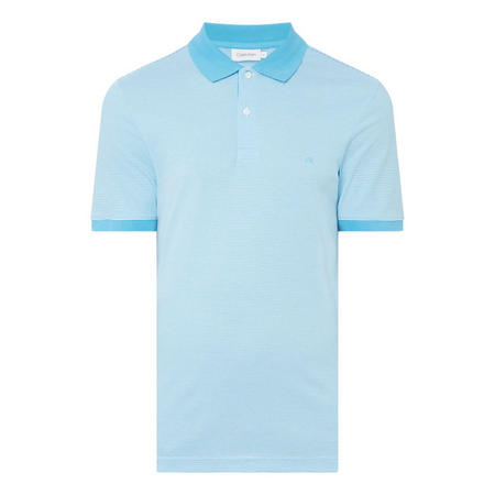 Regular Fine Stripe Polo Shirt