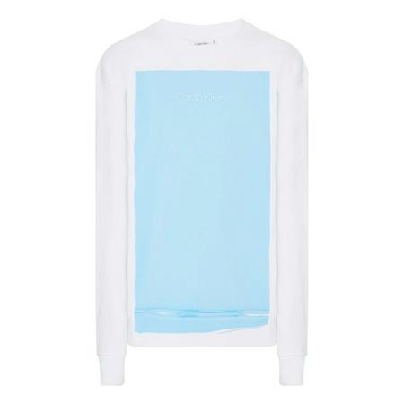 Square Print Sweatshirt