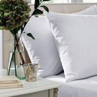 200 Thread Count Combed Cotton Percale Sheets and Pillowcases White