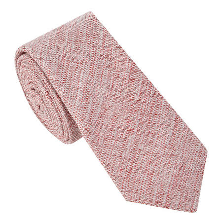Linen Diagonal Tie