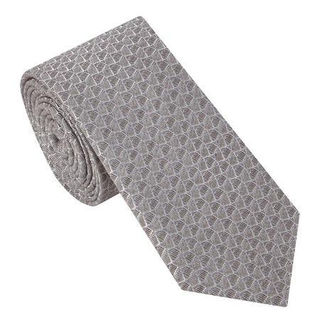 Geometric Textured Tie