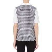 Mixed Print Polo Shirt