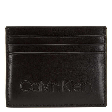 Leather Embossed Card Holder