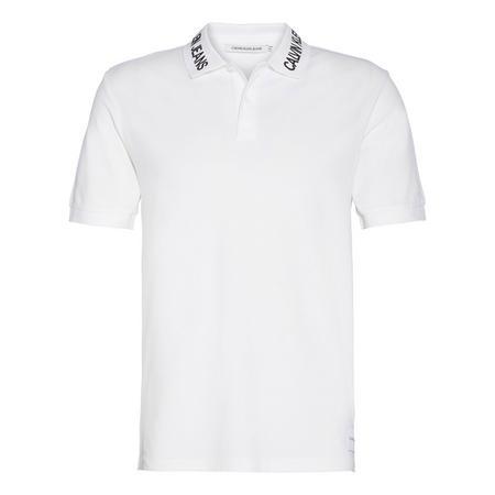 Logo Collar Polo Shirt