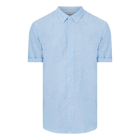 Regular Fit Linen Shirt