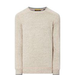 Contrast Stitch Sweater