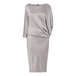 Stainless Steel Cowl Neck Dress