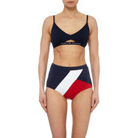 Retro High-Waisted Bikini Bottoms