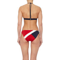 Colourblock Triangle Bikini Top
