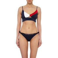 Colourblock Bikini Top