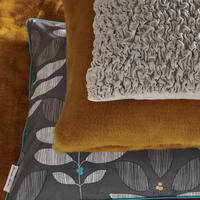 Cushion Tactile Ochre