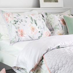 Maya Oxford Pillowcase Grey