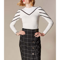 Abstract Stripe Jumper