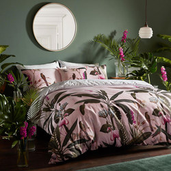 Pistachio Duvet Cover Pink