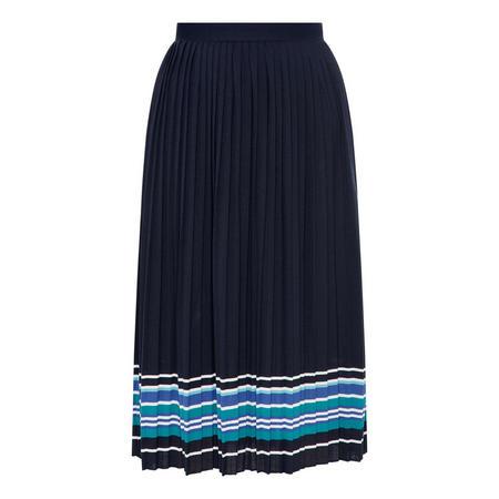 Striped Hem Skirt