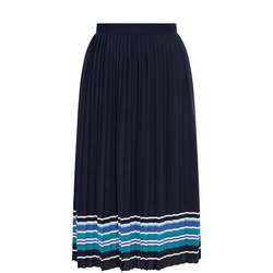 Striped Hem Skirt