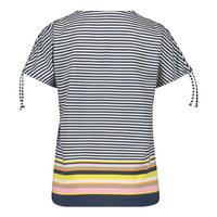 Striped Tie Sleeve T-Shirt