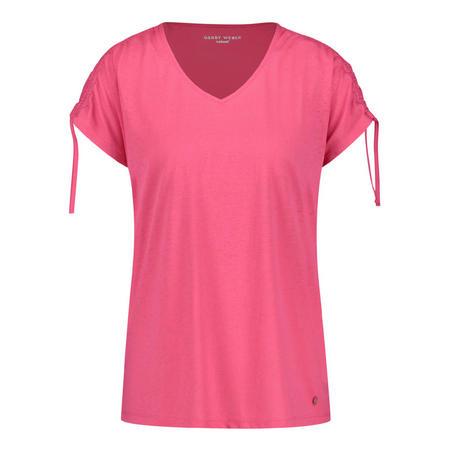 Drawstring Sleeve T-Shirt