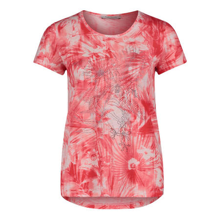 Tropical Sequin T-Shirt