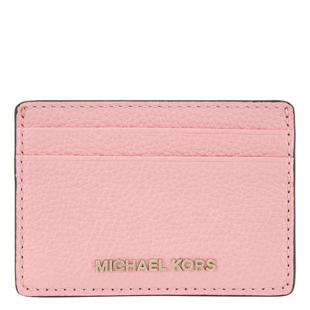 9a768f1260b3 MICHAEL Michael Kors Pebbled Leather Card Holder