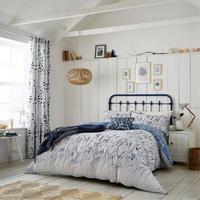 Blowing Grasses Duvet Cover Blue