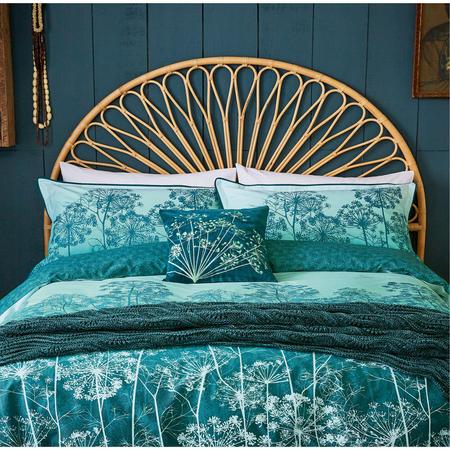 Dill Oxford Pillowcase Aqua