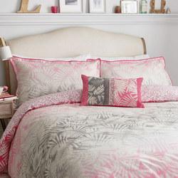 Espinillo Oxford Pillowcase Hot Pink