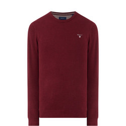 Piqué Crew Neck Sweater