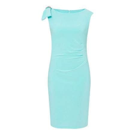 Bow Tie Shoulder Dress