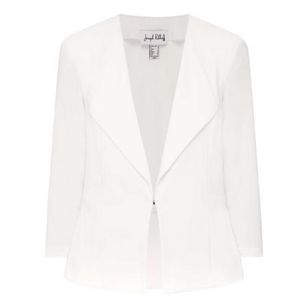 Cropped Sleeve Jacket