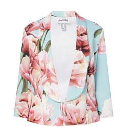 Floral Print Blazer