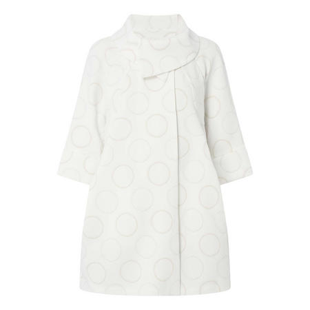 Crop Sleeve Circle Coat