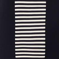 Striped Panel Dress