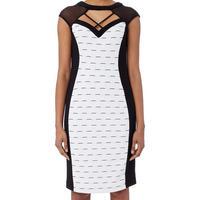 Textured Panel Dress