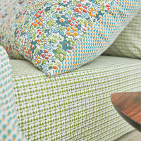 Dottie/April Fitted Sheet Spring Green