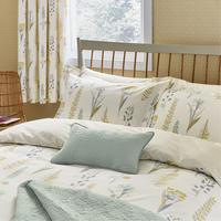 Floral Bazaar Duvet Cover Set Linen