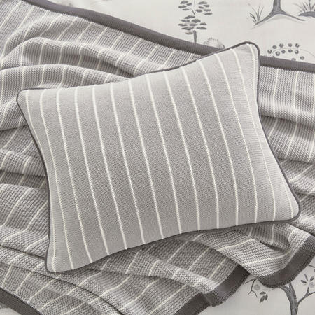 Willow Tree Cushion Grey