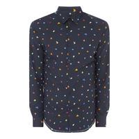 Bend Dot Print Shirt