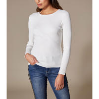 Ribbed Fitted Top