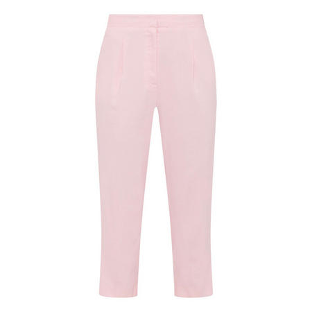 Cropped Linen Trousers