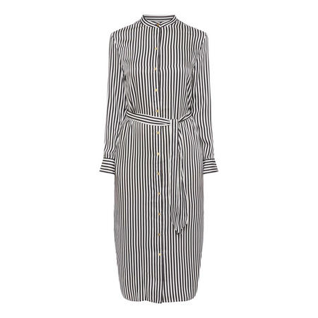 Selam Striped Shirt Dress