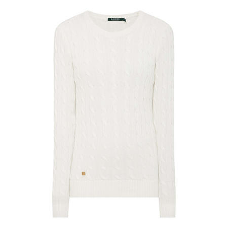 Pierce Cable Knit Sweater