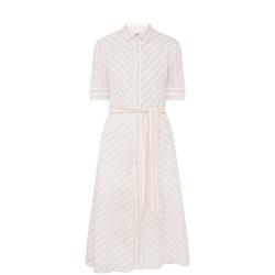 Trymaine Striped Dress