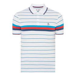 Engineered Stripe Polo Shirt