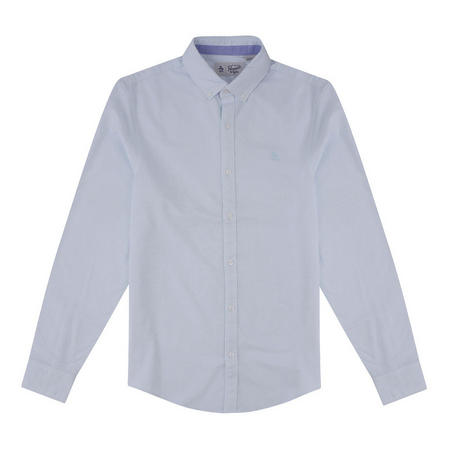 Embroidered Logo Oxford Shirt