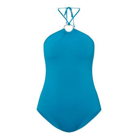 Iconic Ring Halter Swimsuit